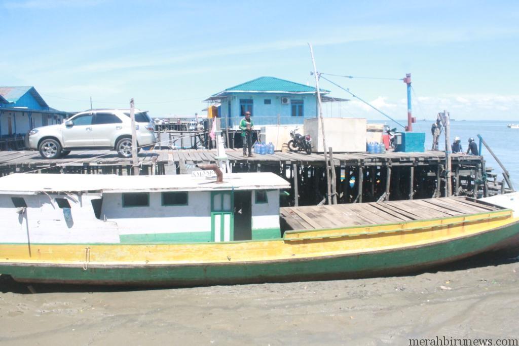 Kapal yang digunakan tersangka saat lakukan penyelundupan (hfa)
