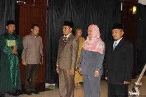 3 Anggota Bawaslu Kaltara yang dilantik (hfa)