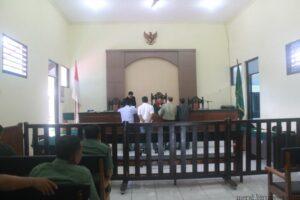 Suasana sidang Pra Peradilan di Pengadilan Negeri Tarakan (hfa)