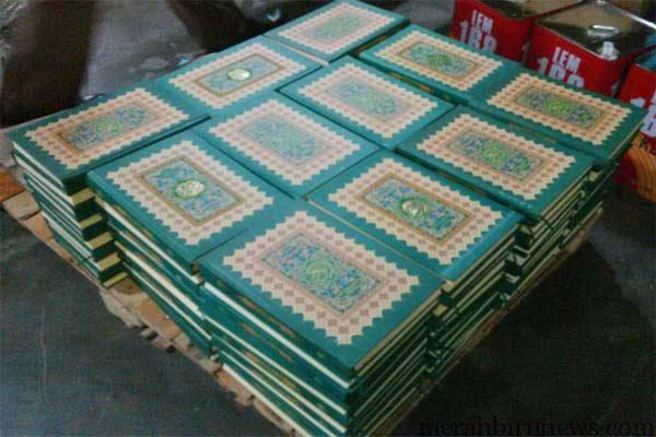 Al-Quran Yang Siap Didistribusikan