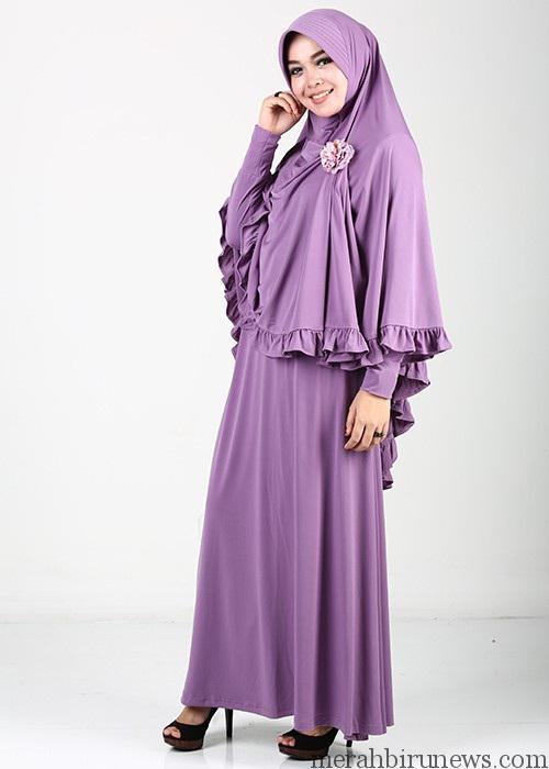 Contoh Trend Baju Muslimah Gamis Syari
