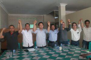 Tim pemenangan Jusuf Sk - Martin Billa yang dipimpin oleh Supaad Hadianto (hfa)