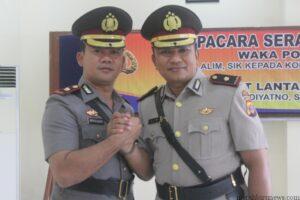 Kompol Hendrik Sidabutar dan Kompol Alim (hfa)