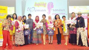 Tri Utami bersama para pemenang dan inspiring women preneur competition (dok)