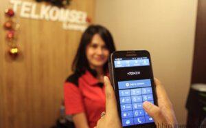 Pelayanan Telkomsel (tribun)