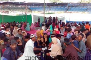 Narapidana Lapas Kelas II A Tarakan, Berkumpul Bersama Keluarga Menikmati Suasana Silaturrahmi Idul Fitri