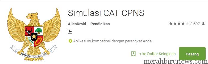Simulasi CAT CPNS