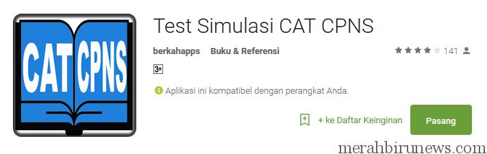 Test Simulasi CAT CPNS