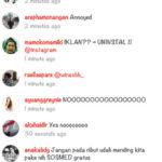 Komen Netizen Terkait Instagram Ads