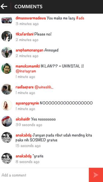 Salah Satu Instagram Ads Sponsored Post