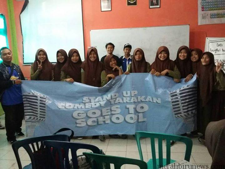 Stand Up Comedy Goes To School di SMA Muhammadiyah (stand up comedy for mbnews)