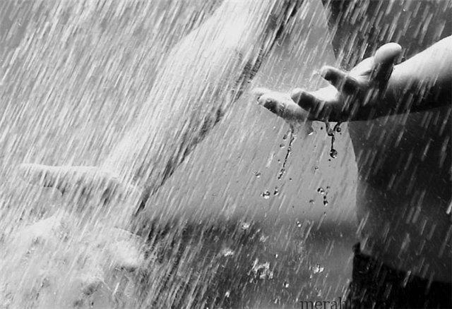 Ilustrasi Gambar Hujan