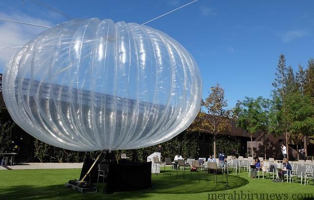 Teknologi Balon Internet Milik Google