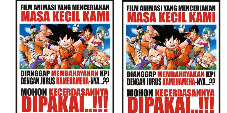 Meme Dragon Ball Sindir Penghapusan Kartun Dragon Ball Oleh KPI 2