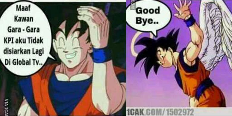 Meme Dragon Ball Sindir Penghapusan Kartun Dragon Ball Oleh KPI 3