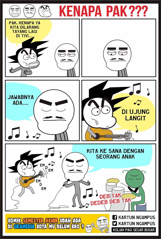 Meme Dragon Ball Sindir Penghapusan Kartun Dragon Ball Oleh KPI 5