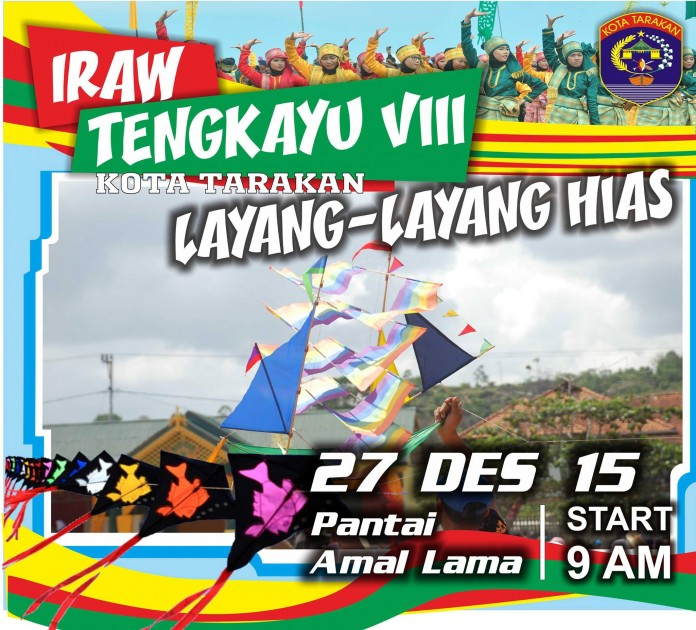 Festival IRAW Tengkayu 2015 Kota Tarakan - Layang Layang Hias
