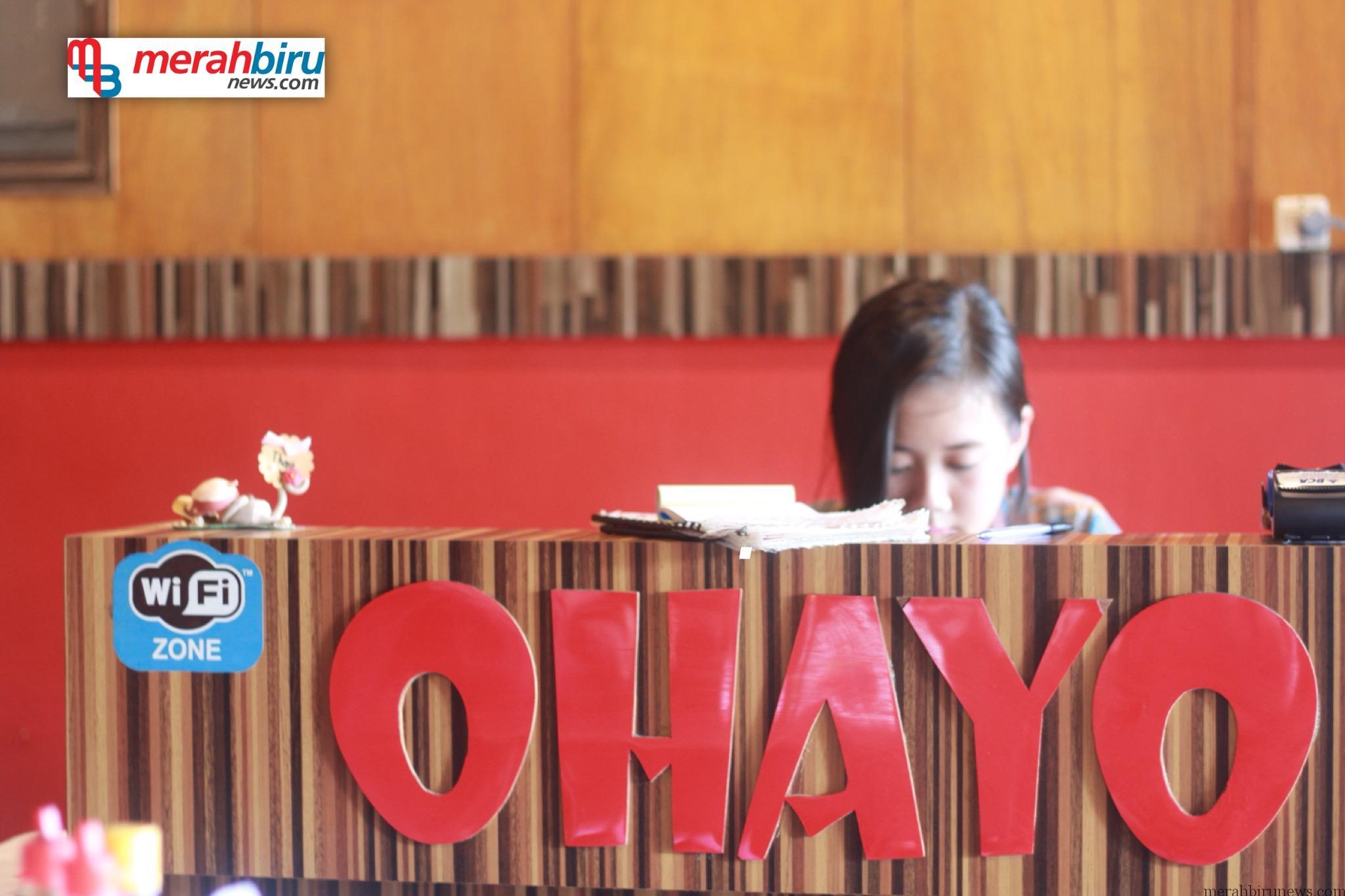 Kedai Ohayo Makanan Khas Jepang Di Bumi Paguntaka