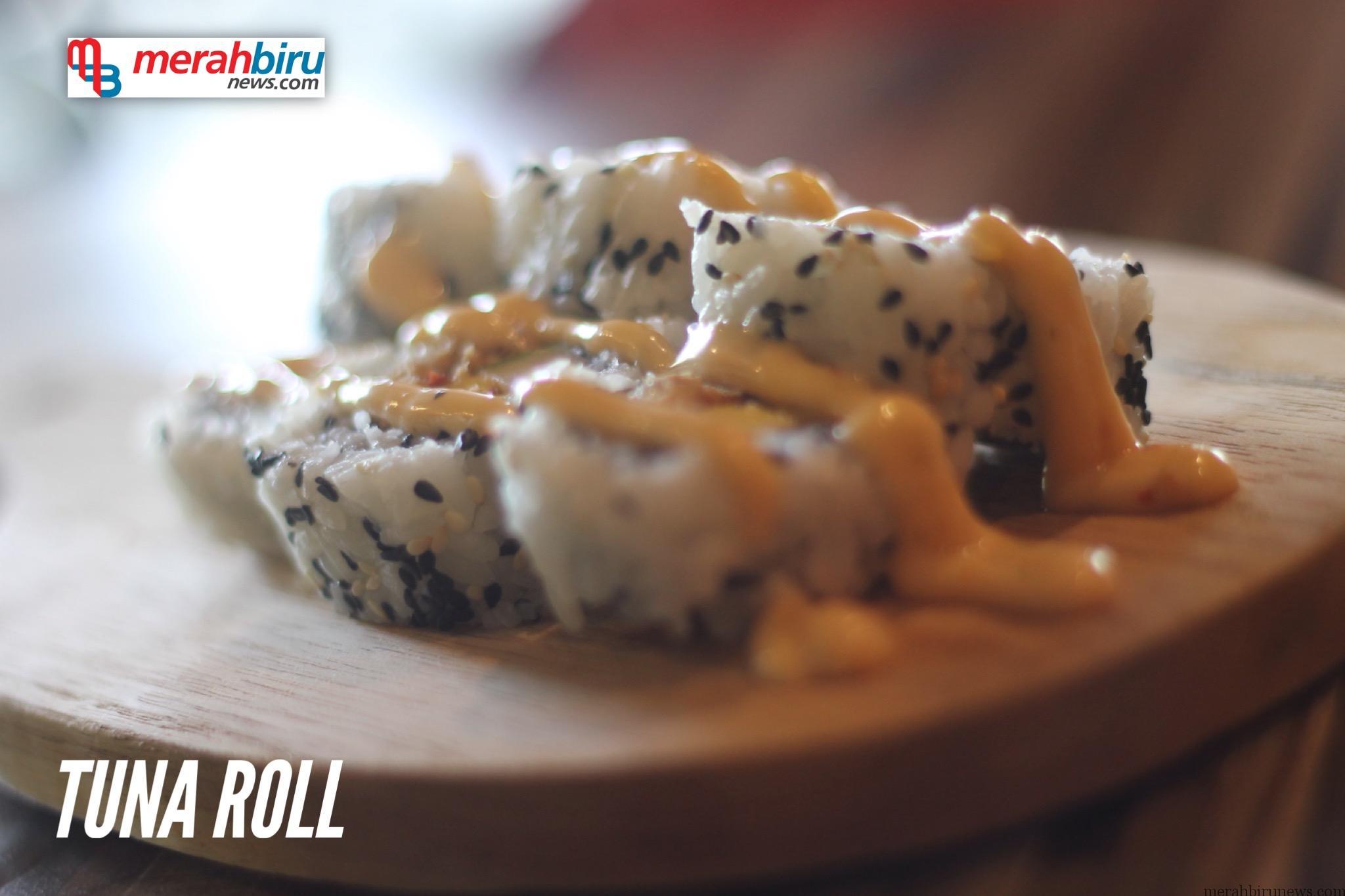 Kedai Ohayo Makanan Khas Jepang Menu Tuna Roll