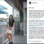 #SayangUangnya, Pevita Pearce Kepergok Naik Bus TransJakarta