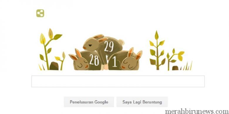 Doodle Google Tahun Kabisat