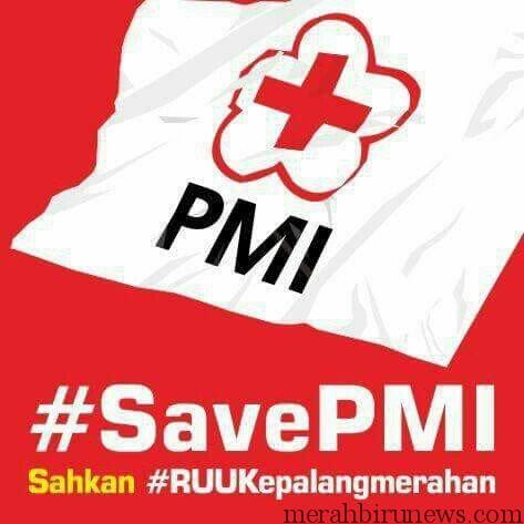 #SavePMI Sahkan RUU Kepalangmerahan