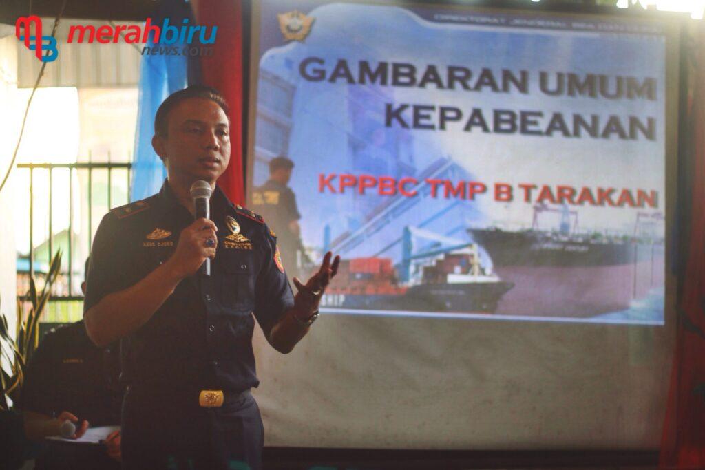 Kepala Kantor KPBCP Tarakan Agus Djoko