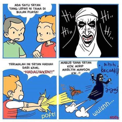 Meme Valak The Conjuring 2