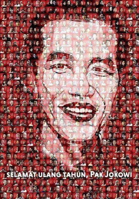 Selamat Ulang Tahun Pak Jokowi 55Th