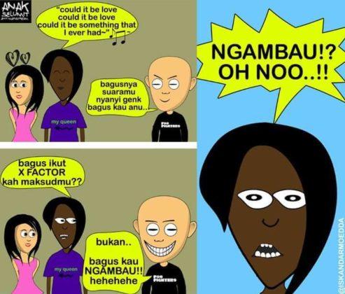 Komik Strip Ala Kota Tarakan
