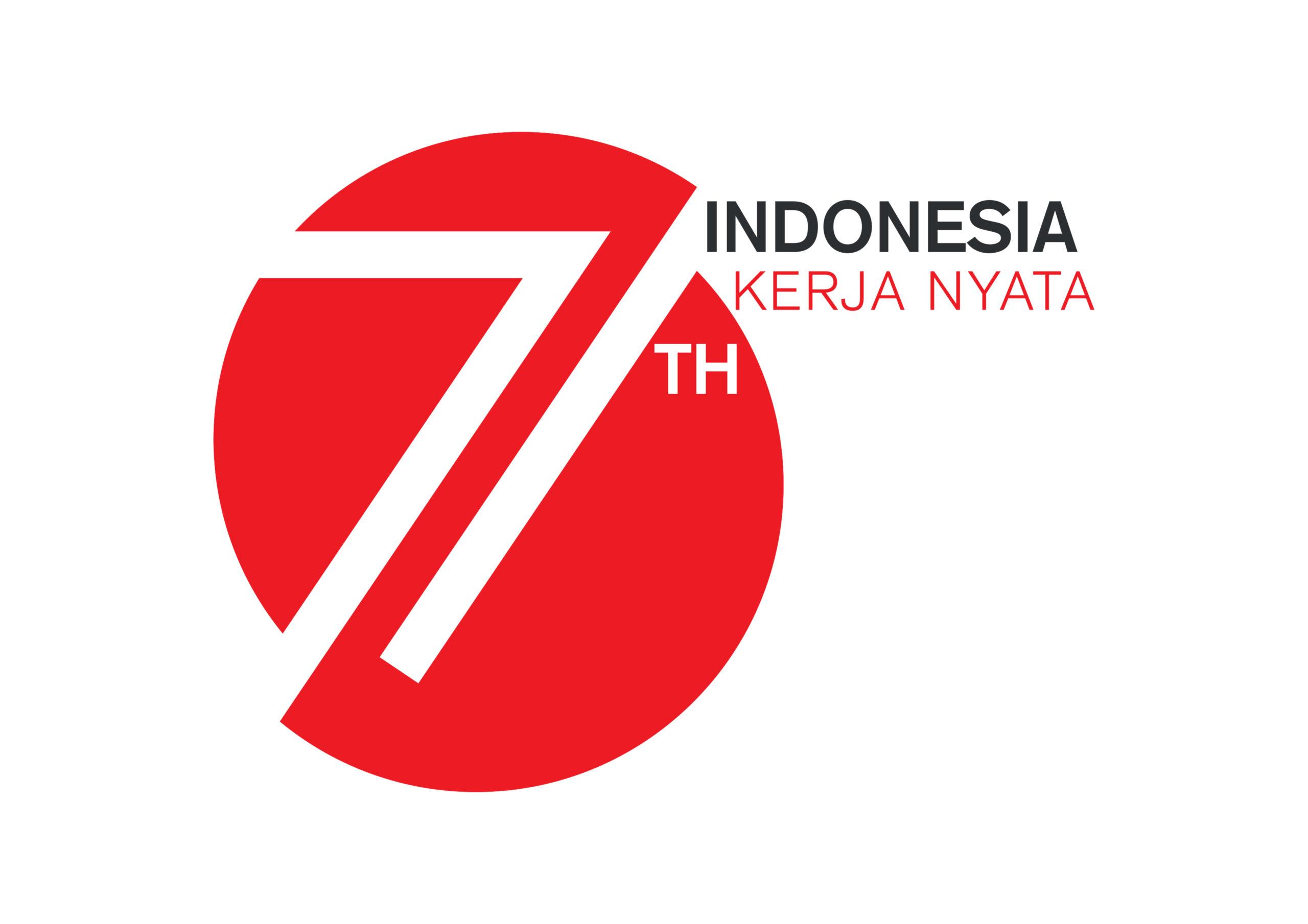 Logo HUT RI ke 71