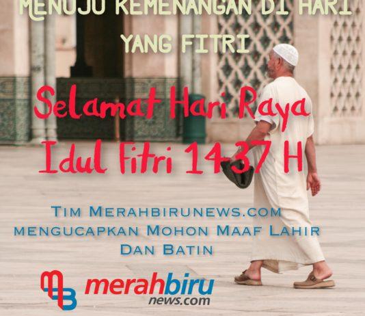 Lebaran Hari Raya Idul Fitri 1 Syawal 1437 H 2016