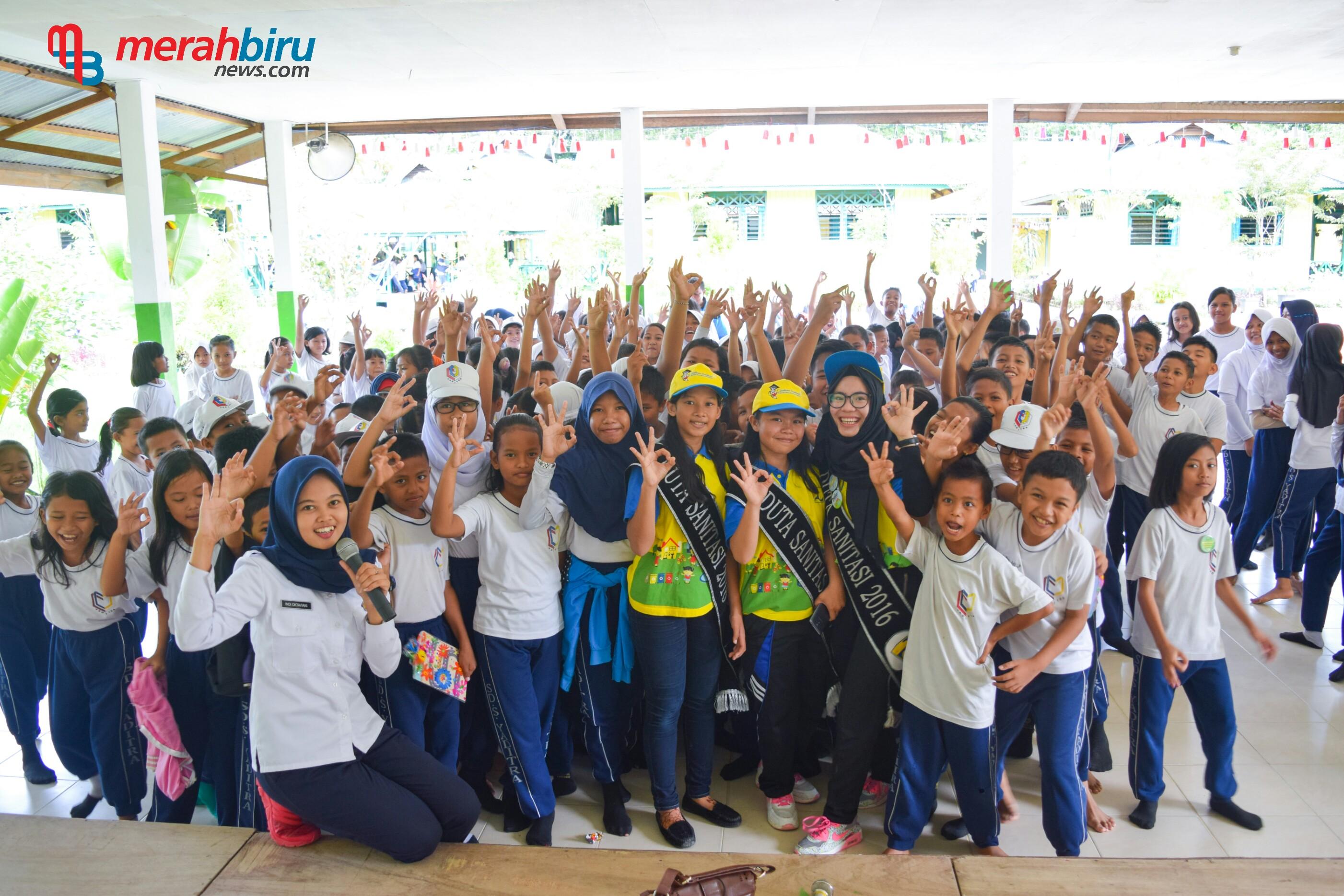 Inilah Keseruan Duta Sanitasi Kaltara Saat Sosialisasi Kampanye Edukasi di SD YADITRA