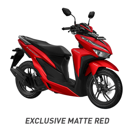 honda vario 150 exclusive matte red