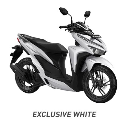 honda vario 150 exclusive white